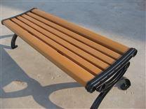 厂家直销 户外小区公园休闲椅公园椅 铸铁脚实木塑木广场椅子