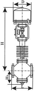 电子式电动顶导向调节阀ZSAP