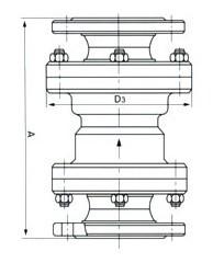 固定比例式减压阀YB43X