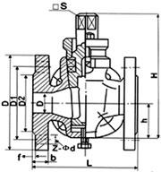 三通全铜旋塞阀X44W-10T