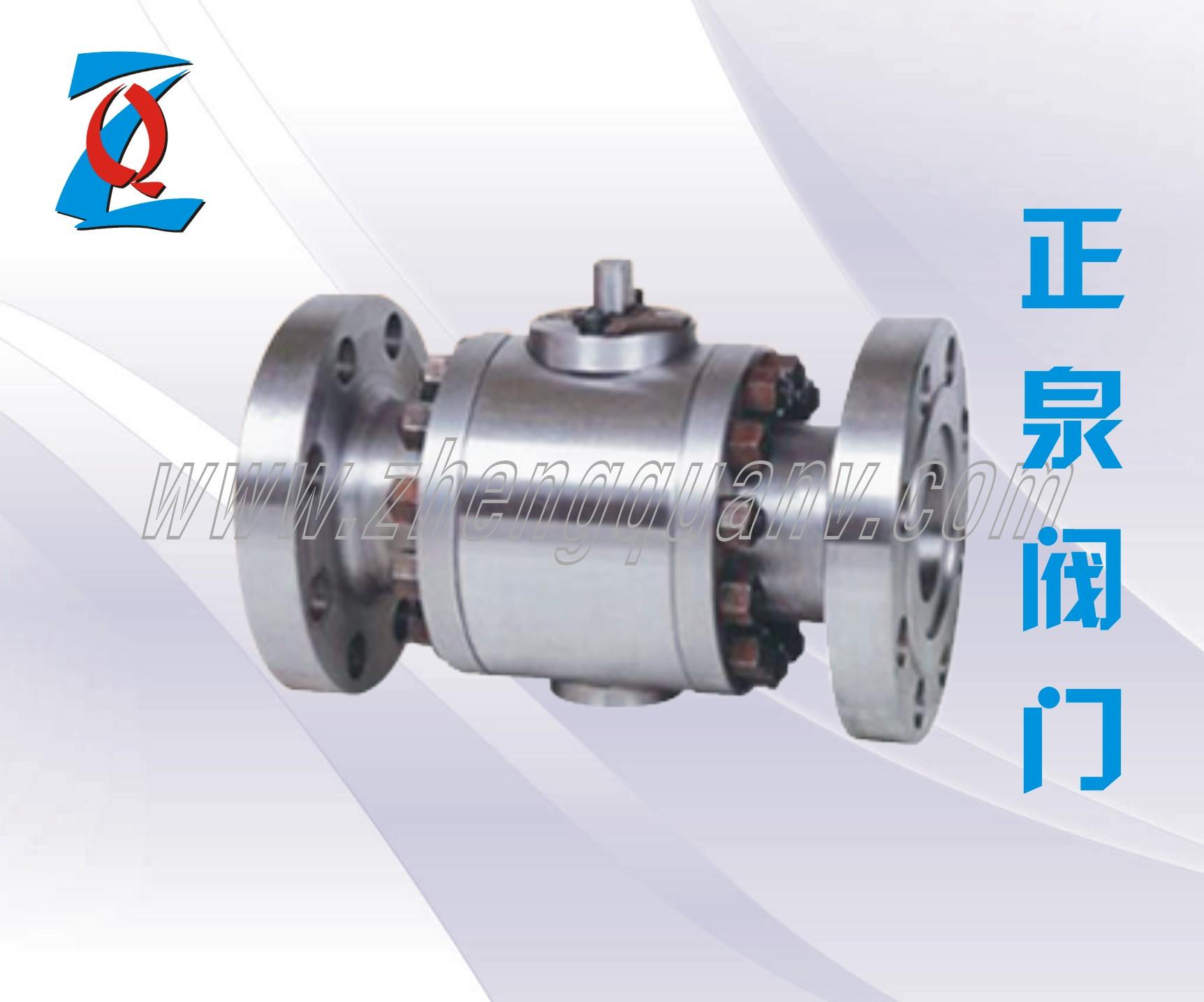 q41n-法兰式高压球阀-供求商机-温州正泉阀门