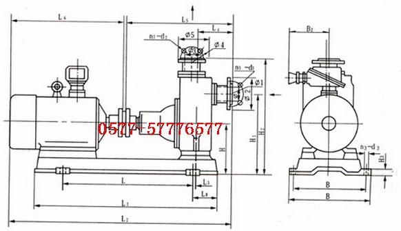 电动油泵电路图