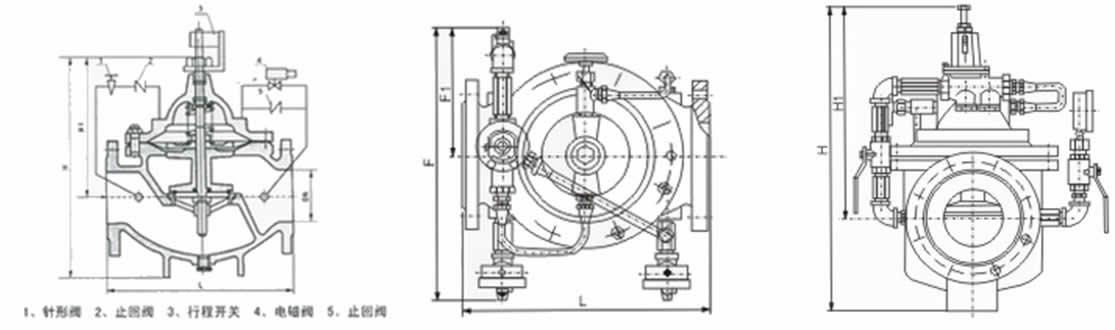 900X紧急关闭阀|紧急切断阀是一种用于消防用水与生活用水并联的供水系统中,用来调配供水方向的阀门。当火灾发生时,消防急需大量用水,立即切断生活用水,确保足够的消防用水;当消防停止用水压力减小时,阀门自动打开,呈常开状态,恢复生活供水。该阀使系统无须另设专门的消防单独供水管网,大大地节约了建设成本和用水量。阀门控制灵敏度高,安全可靠,调试简便,使用寿命长。