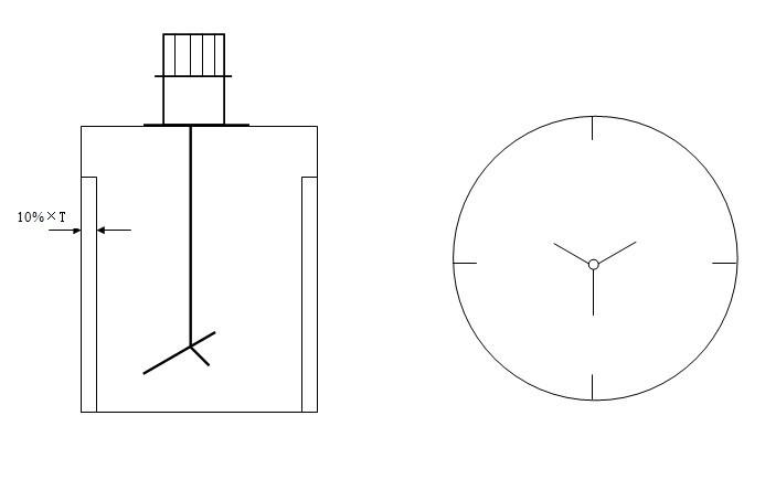 安装使用时,搅拌桶采用挡流板,搅拌效果更佳,推荐使用.