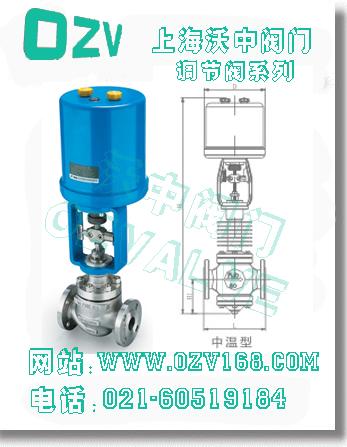 zdlp电子式电动单座调节阀--上海沃中阀门制造有限