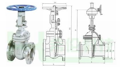 四,z40wapi 低温法兰闸阀 执行标准:   项目 设计制造 压力图片
