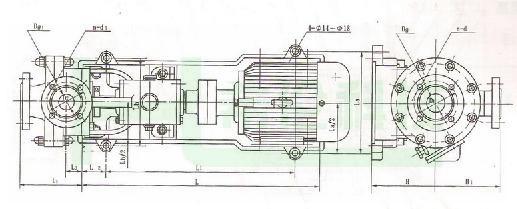 螺杆真空泵结构原理图
