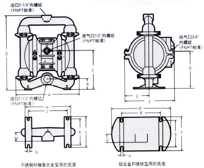气动隔膜泵_泵/阀/管件/水箱图片