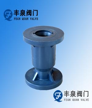 塑料立式止回阀(RPP,UPVC,CPVC,PVDF)