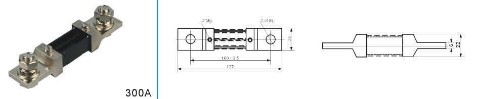 fl-2-300a直流电流分流器-北京宇科泰吉电子有限公司