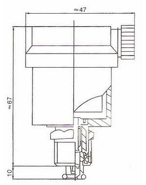 zp88型自动铜排气阀