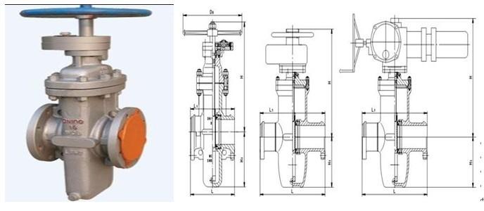 19 手轮 q235a 20 螺母 35 z47wf 平板闸阀产品外形和连接尺寸 dn图片