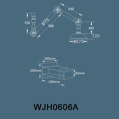 WJH06060606A万向抽气罩(壁式)v招牌招牌弧形图片