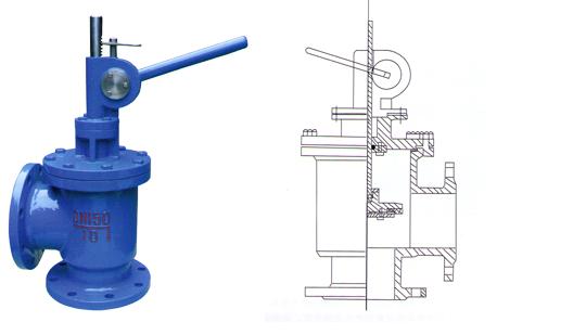 sd44x型手动排泥阀技术参数图片