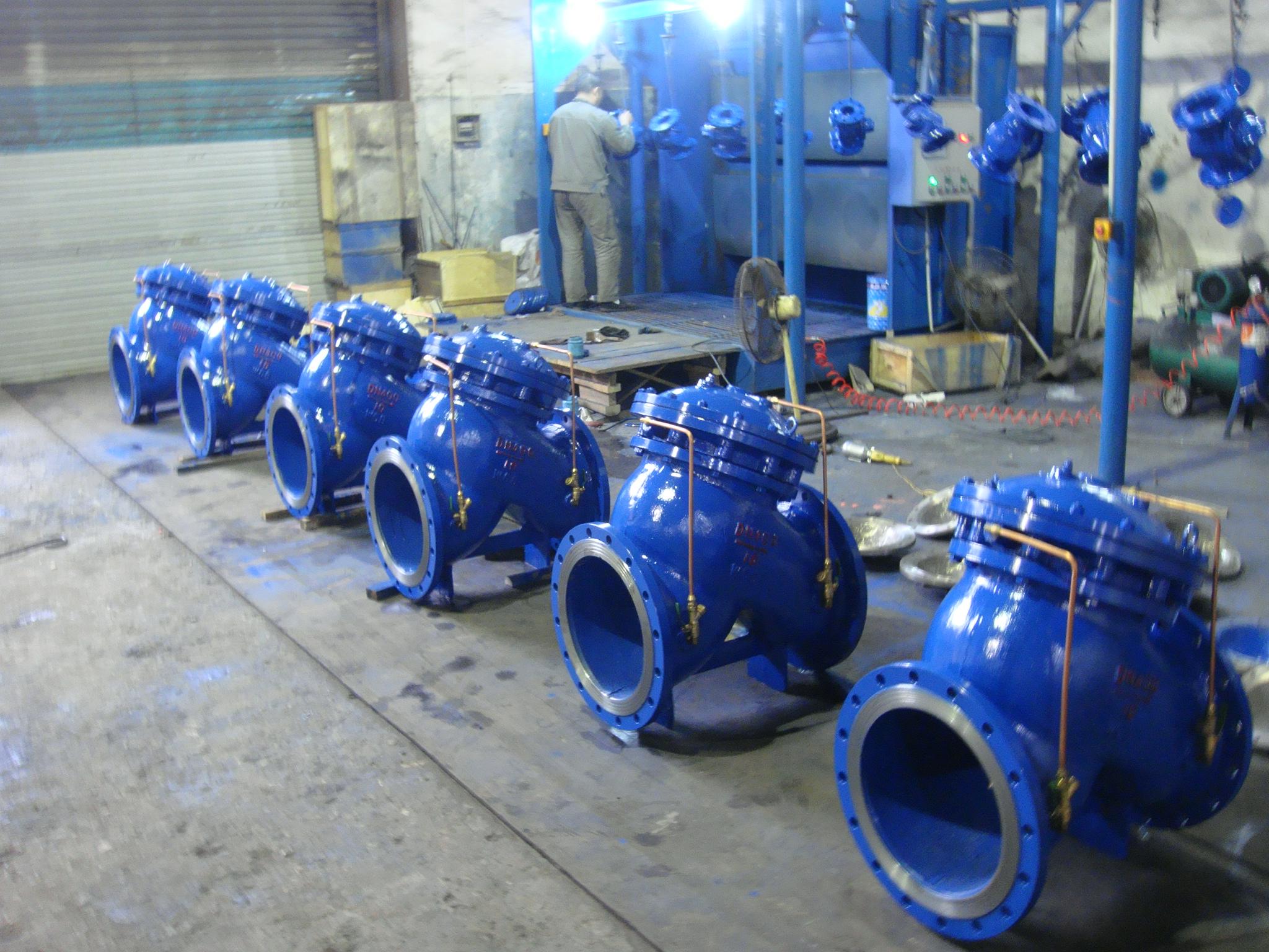 永嘉多功能水泵控制阀生产厂家图片