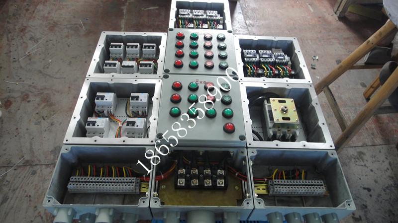 仪表配电柜接线实物图