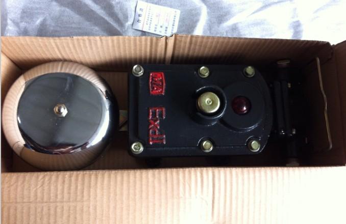 127V矿用声光组合电铃铸铁造