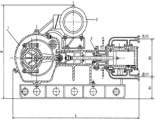 首页 产品报价 > 高温电动往复泵   wbr型高温电动往复泵结构图
