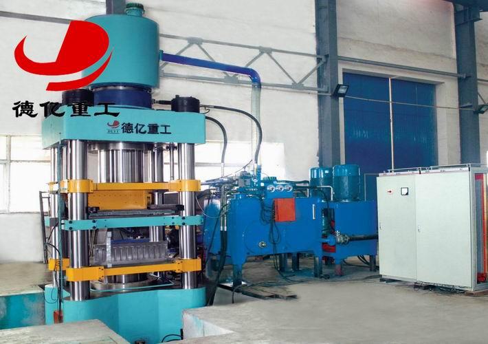 全自动液压砖机中的控制系统和液压系统图片